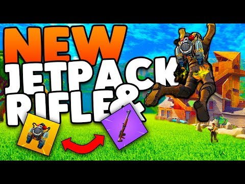 New Jetpack & Hunting Rifle Update! | Everything You Need To Know | Fortnite Battle Royale