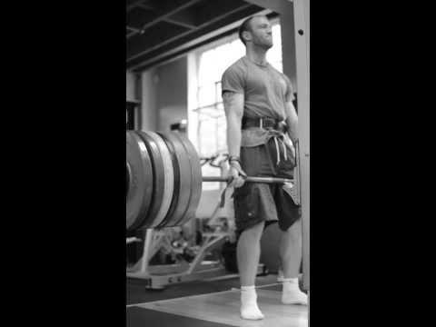 Matt Barr 205kg Deadlift