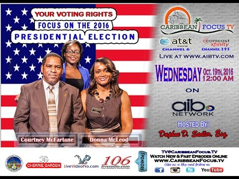 Your Voting Rights: Focus on the 2016 Presidential Election