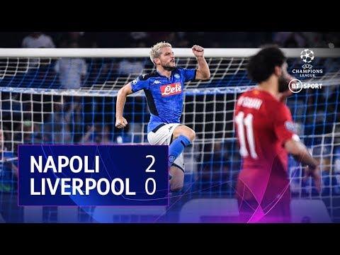 Napoli vs Liverpool (2-0) | UEFA Champions League Highlights