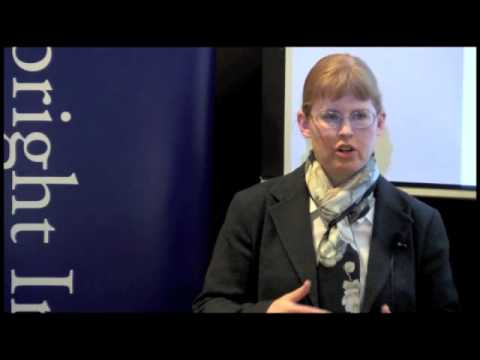Bonnie Docherty: Cluster Munitions, Killer Robots and Disarmament