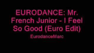 EURODANCE: Mr. French Junior - I Feel So Good (Euro Edit)