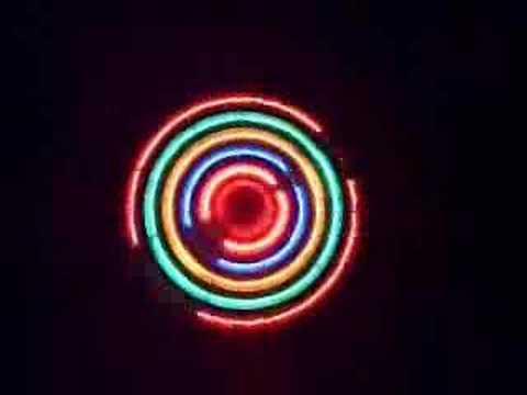 Mandalas de luces de colores youtube for Luces de colores