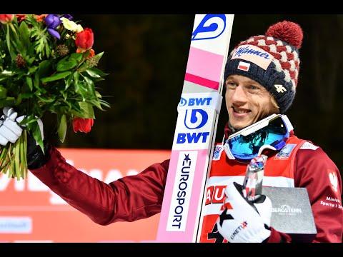 Dawid Kubacki po niedzielnym triumfie w Titisee-Neustadt