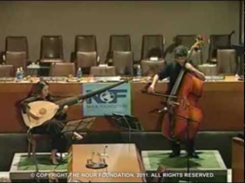 Renaud Garcia-Fons & Claire Antonini at The United Nations 9/11/2008