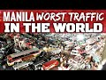 Waze - Top 5 Cities with Worst Traffic (2019) - Manila Philippines Worst in the World [VIDEO]