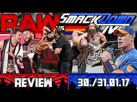 WWE RAW vs. SmackDown Review - RUMBLE AFTERMAT(C)H - 30./31.01.17 (Deutsch/German)