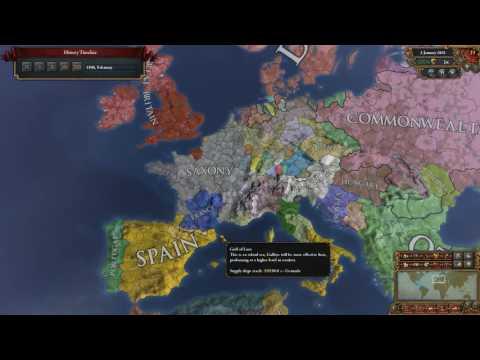 EUIV - Saxony to Roman Empire - A Timelapse Recap (1.19)