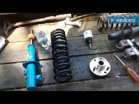 86 Honda Accord Front Suspension H&R Springs Tokico Hp Shocks And Top Hats
