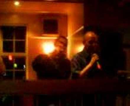 scott and garry do karaoke