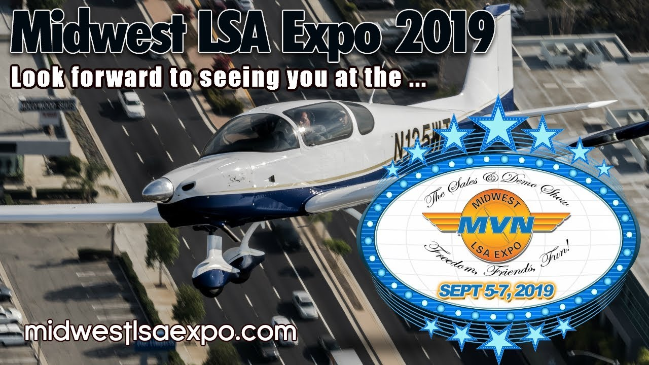 Midwest SkySports, Sling Light Sport Aircraft, Midwest LSA Expo