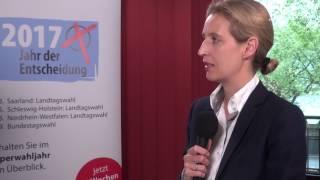 AfD-BPT 2017: Wofür steht Alice Weidel? (JF-TV Direkt)