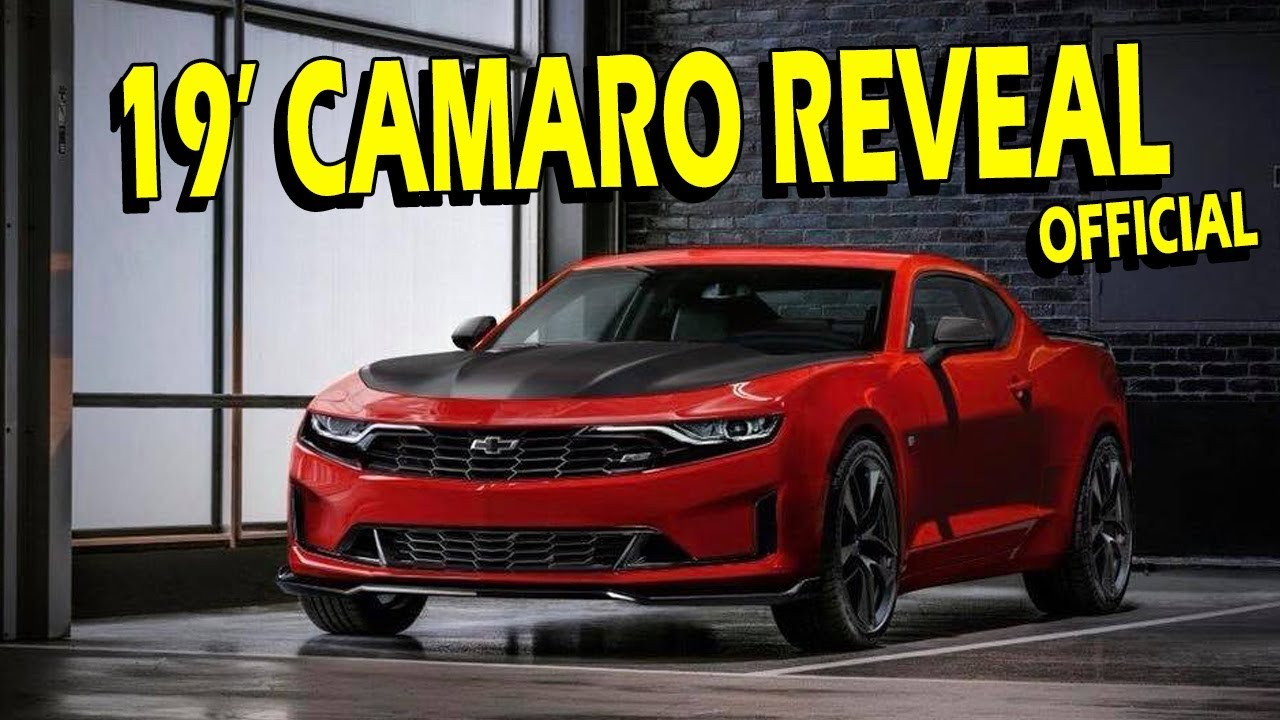 2019 Camaro Refresh Reveal Full Details Real Talk