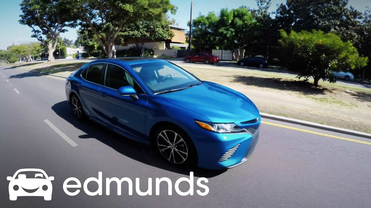 2018 Toyota Camry Review Edmunds Meet The Car