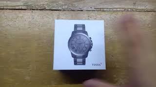 Unboxing Reloj Fossil Hibrido FTW1139
