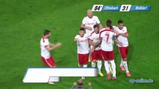 OFC gegen FC-Astoria Walldorf: Tore und Höhepunkte