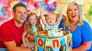 BROOKS' FIRST BIRTHDAY PARTY SPECIAL!