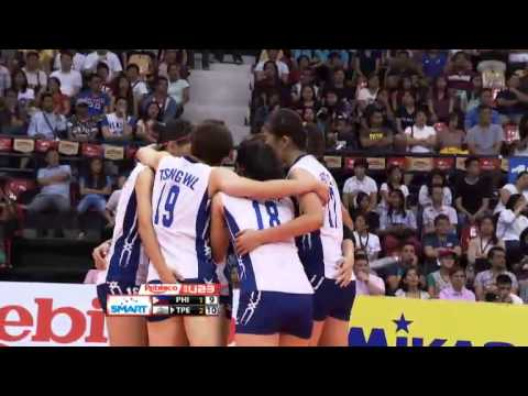 U23: Taipei vs. Philippines Set 4