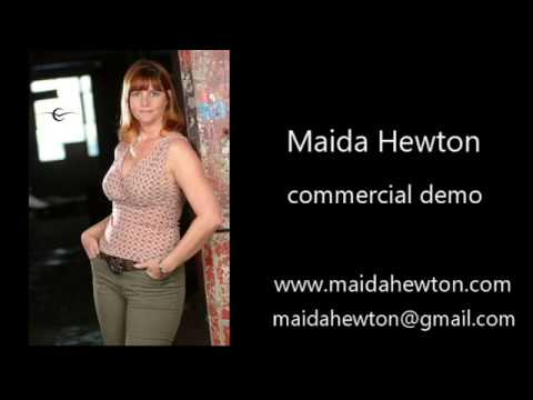 Maida Hewton Commercial Demo