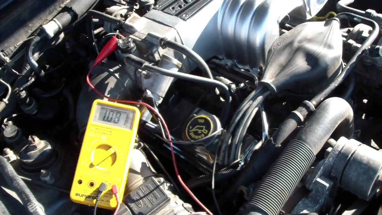 1996 Ford Thunderbird Wiring Diagram Mustang 5 0 Throttle Position Sensor Adjustment Tps Youtube