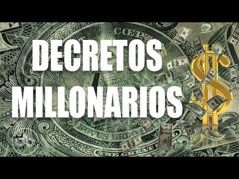Decretos PODEROSOS De Una MENTE MILLONARIA Dirigidos Al Subconsciente (Meditación)