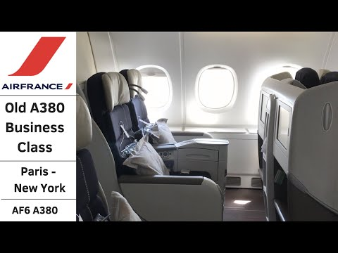 (Flight Review) Air France A380 Business Class Paris To New York AF6
