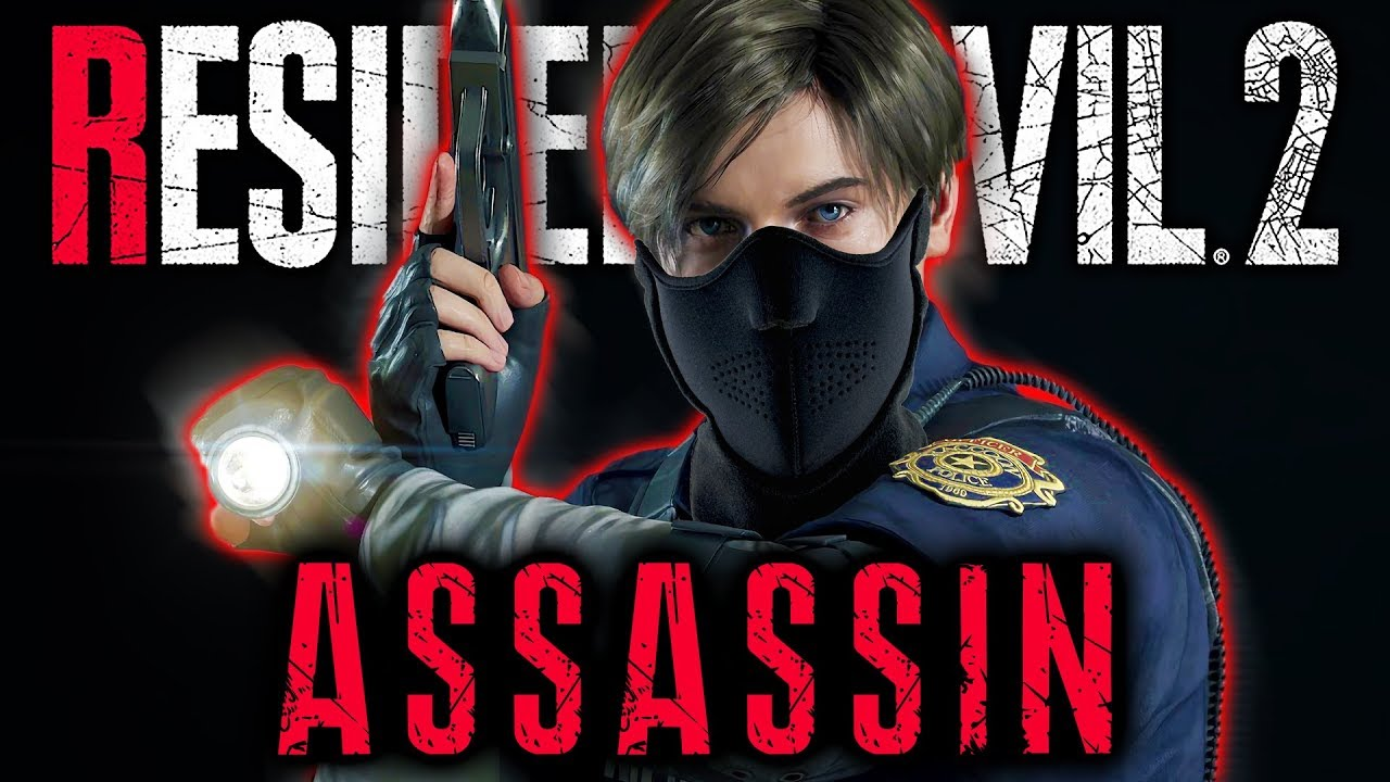 ASSASSIN CHALLENGE – 90% Accuracy, 50+ Kills, Hardcore (S+) | Resident Evil  2 Remake – RE2 PS4 Pro