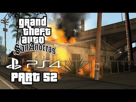 Grand Theft Auto San Andreas PS4 Gameplay Walkthrough Part 52 - RIOT & LOS DESPERADOS