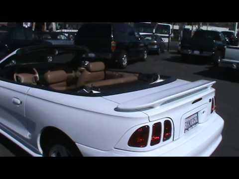 1998 Ford Mustang GT Convertible 2D 1Owner Exceptional Service