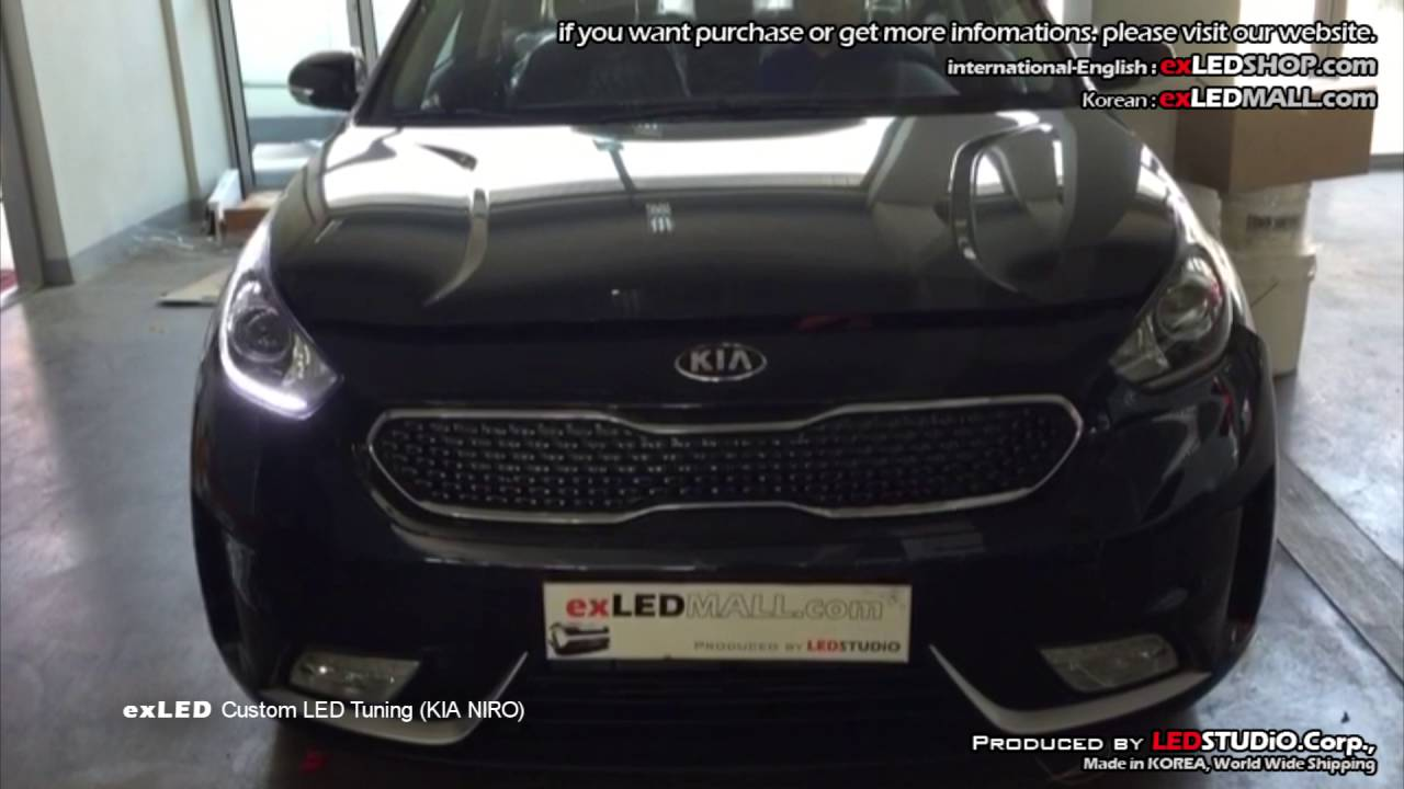 Kia Niro Verlichting Exled Custom Led Tuning Kia Niro 기아 니로 Led 튜닝