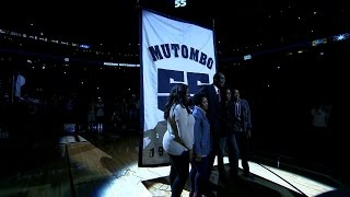 Denver Nuggets Retire Dikembe Mutombo