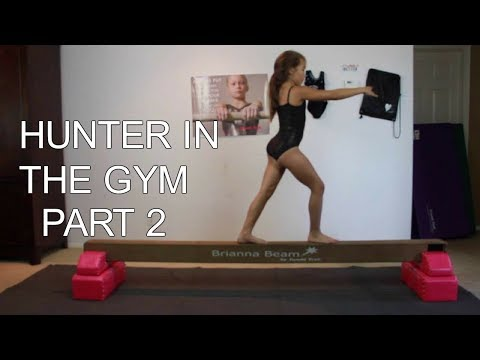 Hunter in the gym | Part 2