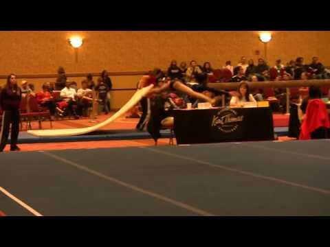 Kurt Thomas Invitational 2012   Floor   Alaina Level 7