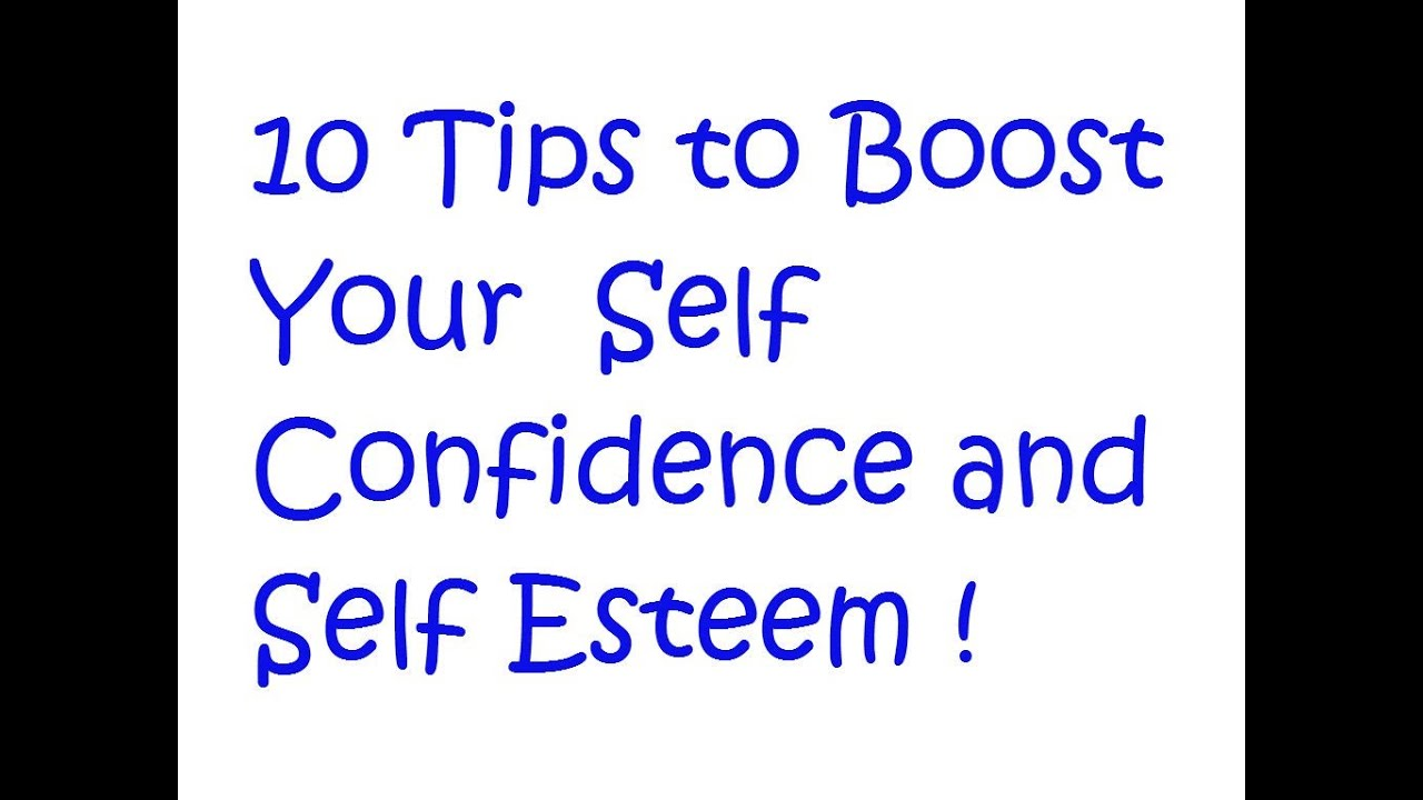 How to Boost Your Self-Esteem How to Boost Your Self-Esteem new images