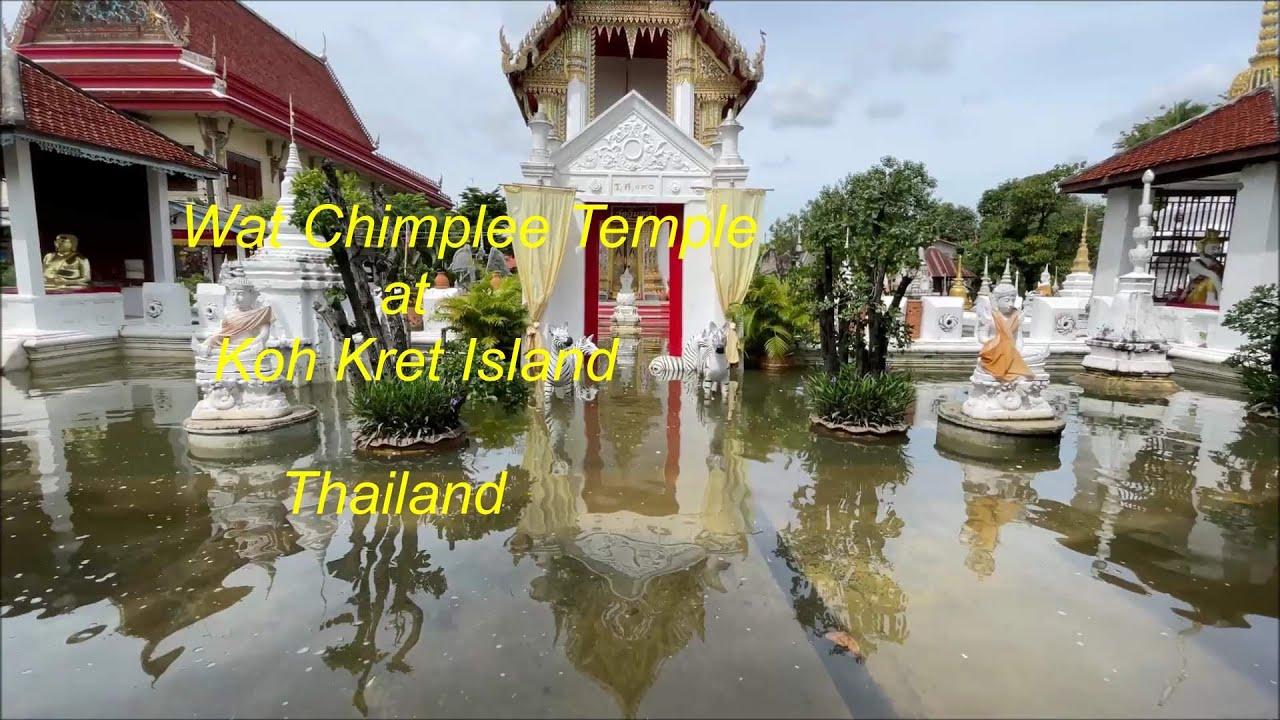 Wat Chimplee at Koh Kret Island in Thailand