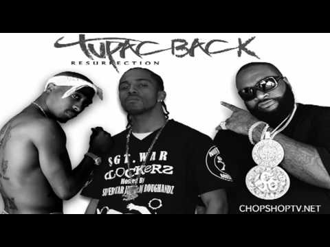 SGTWAR FREESTYLE  Meek Mill ft Rick Ross  Tupac Back