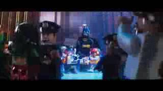 Black in yellow Lego Batman the Movie