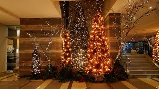 Best Place to See Holiday Lights in Seattle: Four Seasons Hotel Seattle Modern Winter Wonderland
