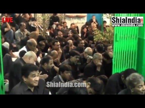 6th Rabi-Ul-Awwal Majlis at Babul Murad AshurKhana 1437-2015-16