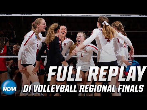 Stanford v. Penn State: Full replay of 2019 NCAA volleyball regional finals