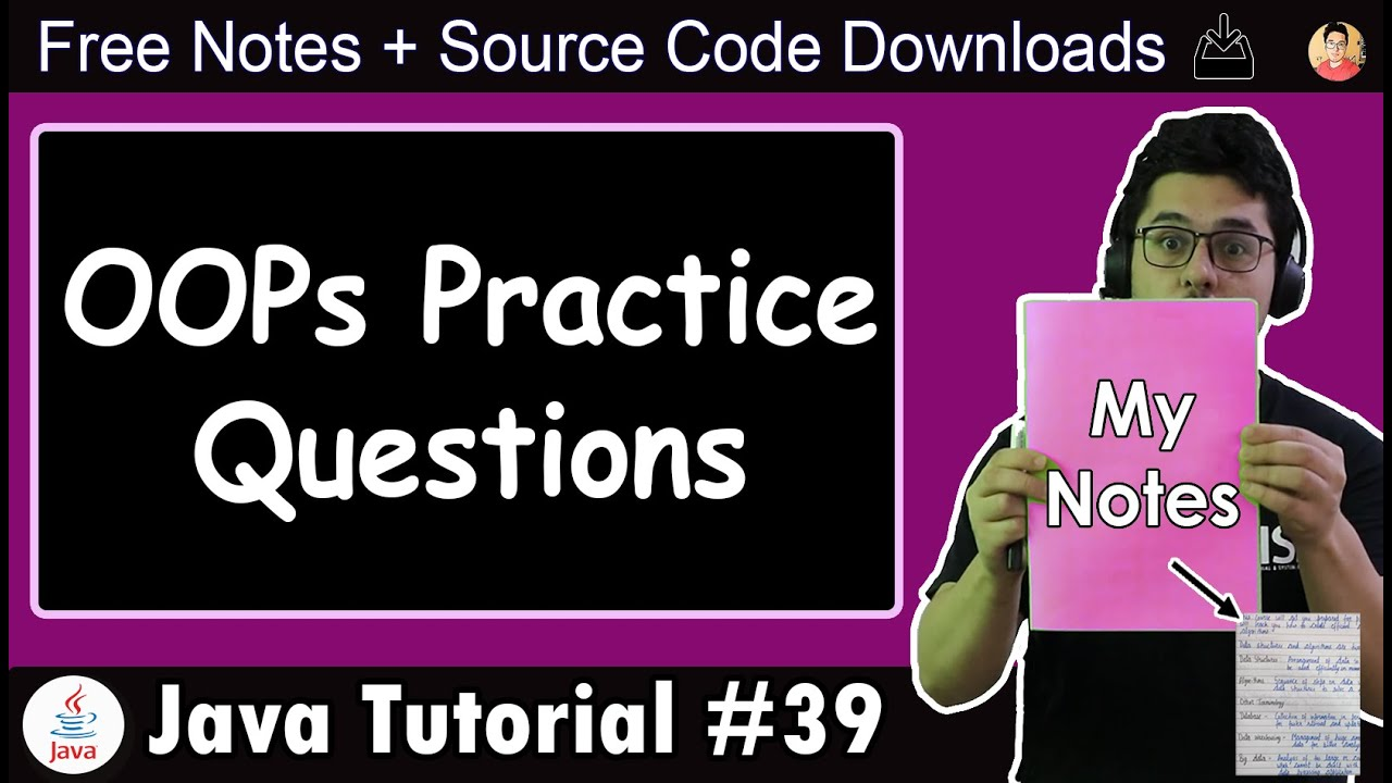 Java Tutorial: Basic Questions on Object Oriented Programming