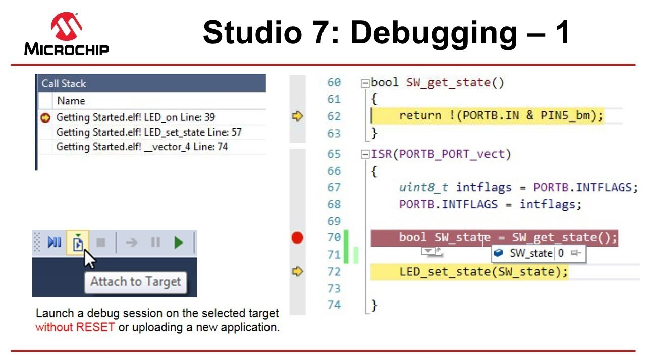 Getting Started with Atmel Studio 7 - Episode 13 - Debugging Pt  1