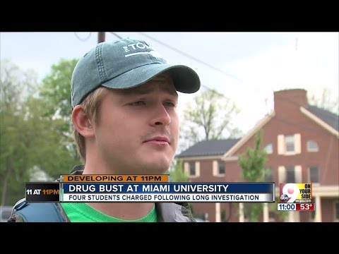 Miami University students arrested for cocaine trafficking