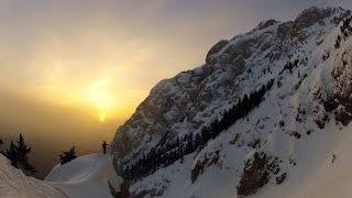 Pedraforca amb esquís