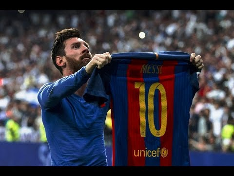 Leo Messi Goal vs Real Madrid 2017 | RAY HUDSON AMAZING COMMENTARY | 720p 60fps - By Pirelli7