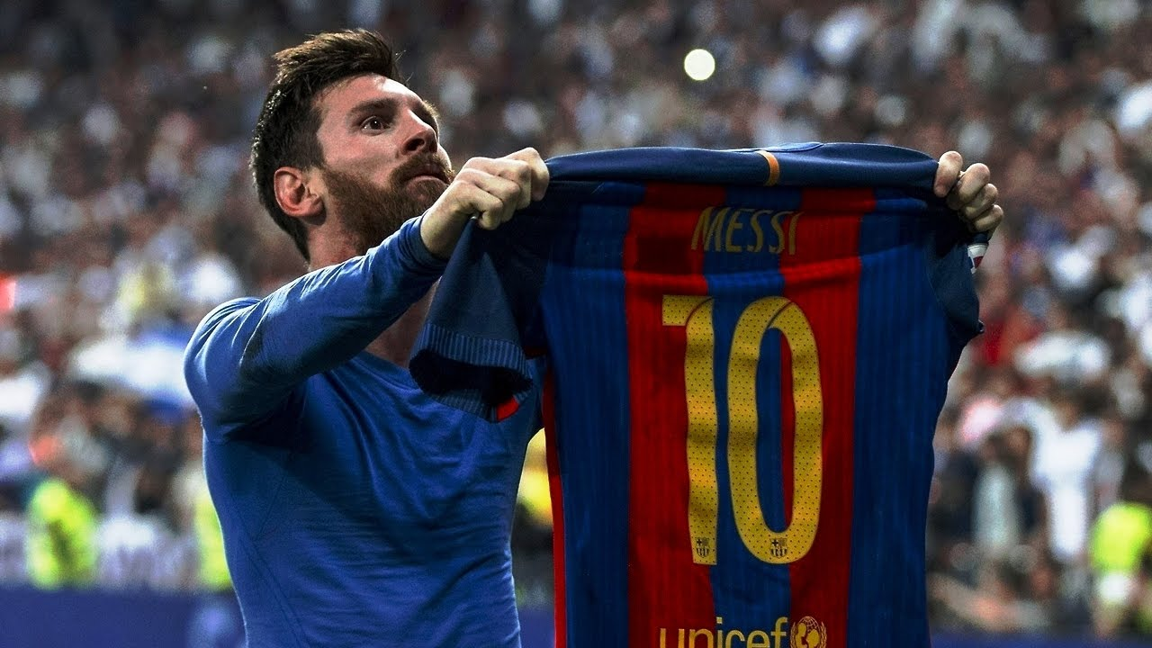Leo Messi Goal Vs Real Madrid  Ray Hudson Amazing Commentary P Fps By Pirelli