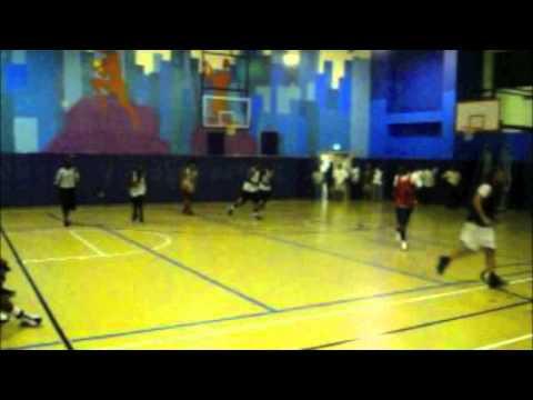 Alonzo Wells B-ball Game Highlights