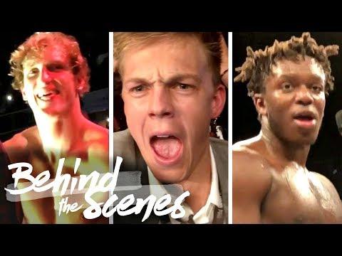 KSI vs Logan Paul Fight: BEHIND THE SCENES w/ Caspar Lee