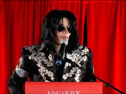 Michael Jackson announces last gigs in London