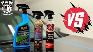 Meguiar's Hybrid Ceramic Wax VS P&S Bead Maker VS Adam's Ceramic Spray Coating !!